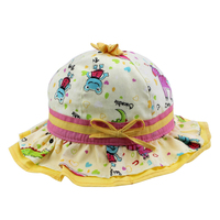 Infant Baby Floral Lacework Cute Bucket Hats Wholesale