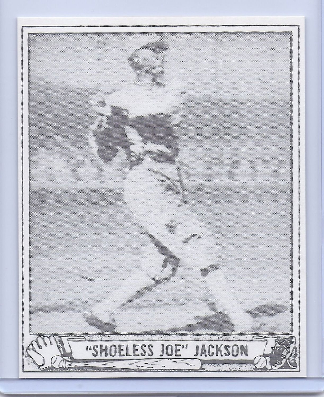 Buy Quotshoelessquot Joe Jackson 3 Card Reprint Lot