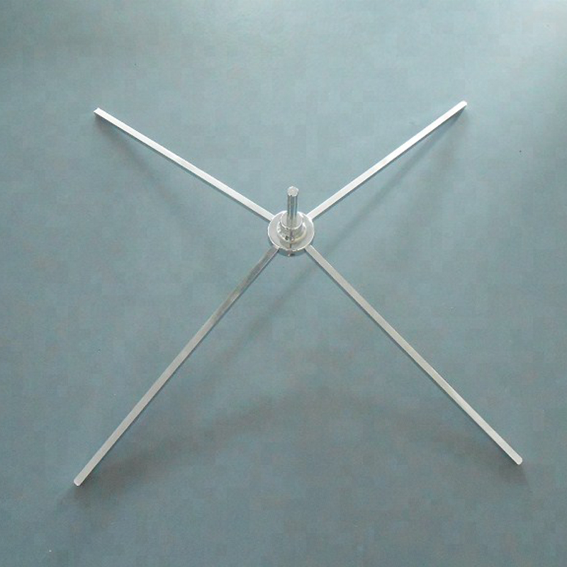Teardrop and Feather Flag Metal Stand