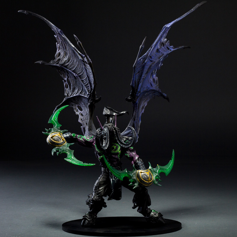 Great Quality Rare Illidan Stormrage 33cm PVC Action Figure Model Toys Gift