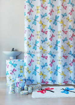 Bathroom Accessories For Girls colorful gift pack match bathroom accessories set,shower curtain