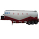 CIMC Dongyue Mobile Vehicle 50cbm bulk cement transport semi trailer for sale