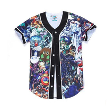 Aangepaste sublimatie fashion design mens <span class=keywords><strong>baseball</strong></span> jerseys