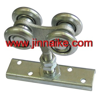 Hanging Sliding Door Wheels Steel Rollers