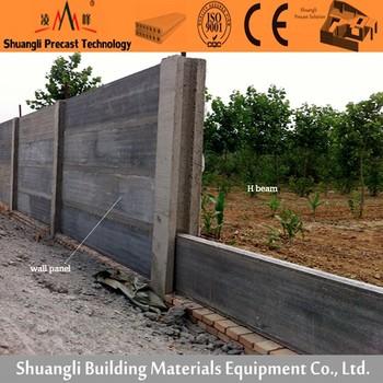 Betonmauer Zaun/beton Zaun Form/wände Fertigteile Zum Verkauf - Buy ...