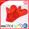 Oven Usage and Heat Resistant Silicone Gloves with Cotton Lining / Silicone Oven Mitts with Lining