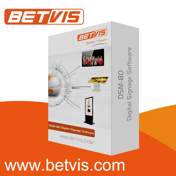 Reliable bus network lcd media monitor with advertising software