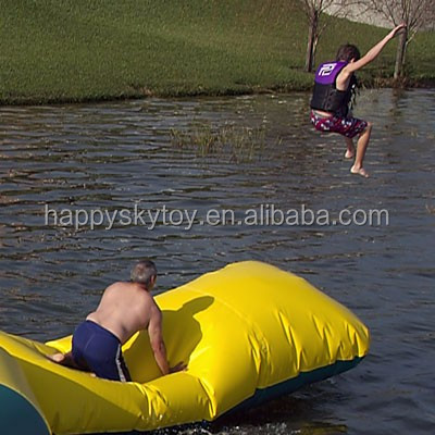 Funny inflatable blob launcher,water blob jump,water games blob jump Inflatable launcher for Sale