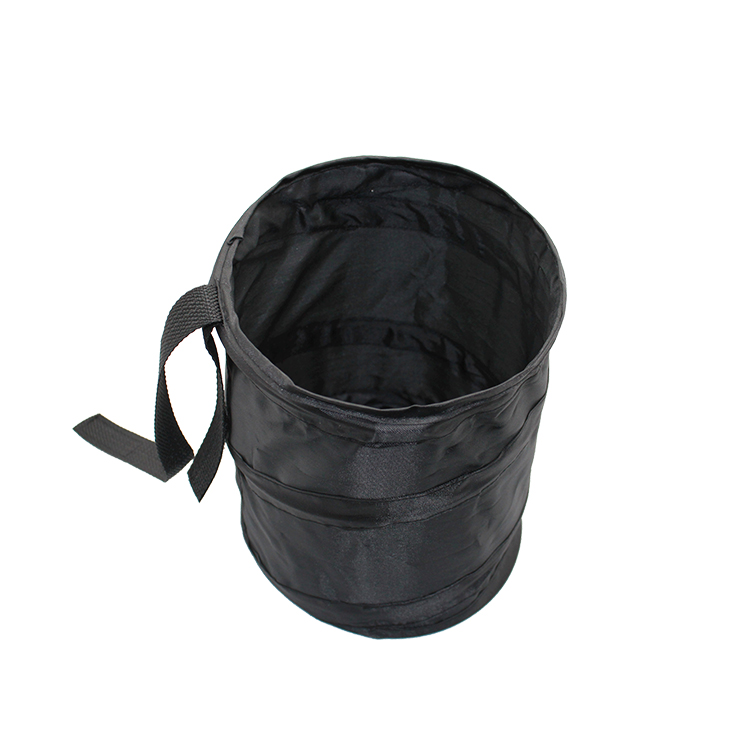 Travelsky Wholesale excellent price outdoor folding garbage hanging mini trash bin for car