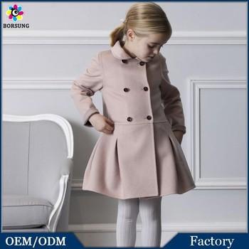 b3ecd3940 New Fancy Western Wear Worsted Winter Jacket Kids Trench Coat Autumn ...