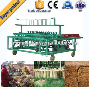 Best selling bamboo/reed strip mat weaving machine
