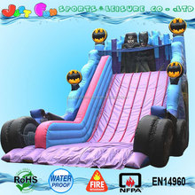 Hot sale batman giant inflatable slide for sale