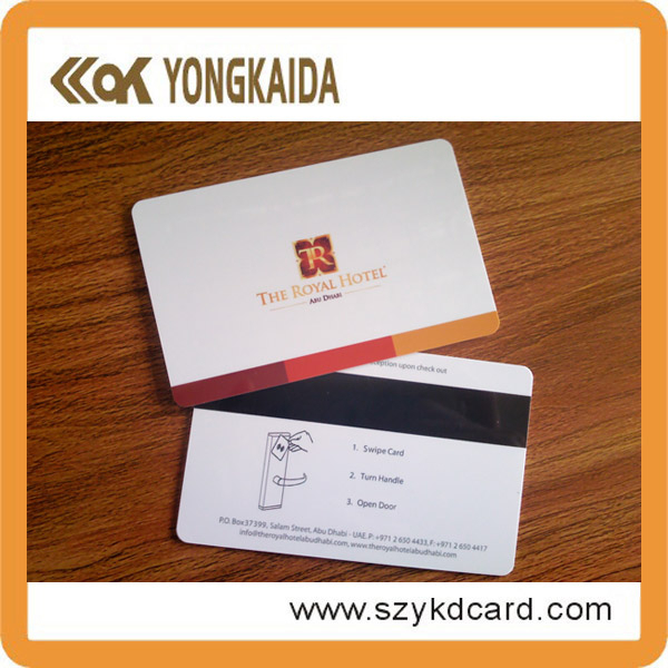 4 color printing card f08 RFID 1kb hotel magnetic key card