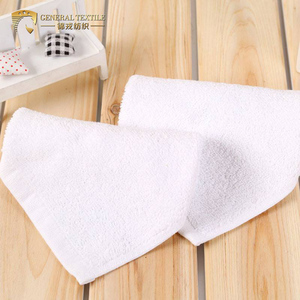JR478 Factory Wholesale White Wash Cloth 100 Cotton 35*35cm Face Towel