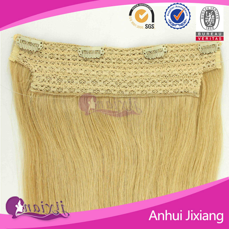 One Piece Clip In Human Hair Extensions 26 Inch 43 Wigs Buy Human