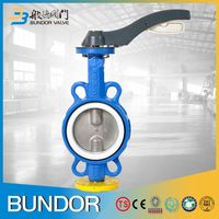 Ggg50 80mm wafer butterfly valve price list