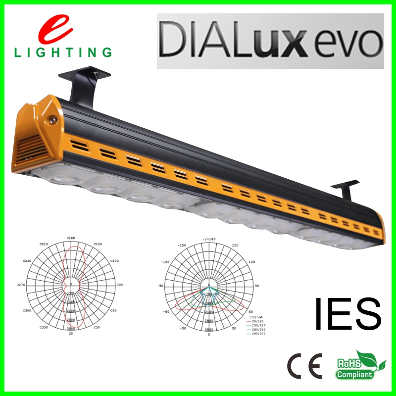 40W 80W 120W 160W led linear highbay light