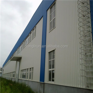 Donglirun Africa Industrial shed design prefabricated building big steel structure warehouse