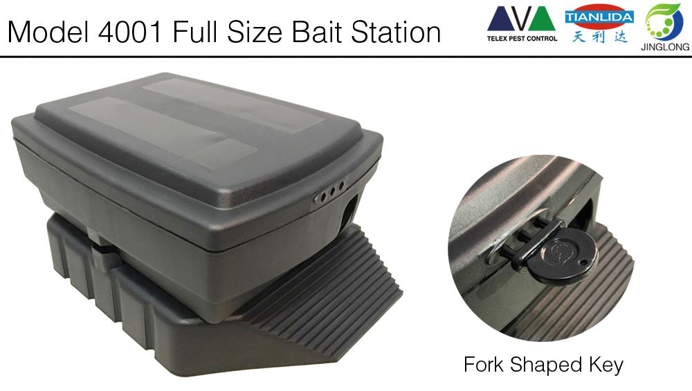 multi catch Rodent Control Bait Station for controlling rats and mice
