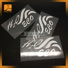 high light heat transfer printing reflective vinyl logo / reflector heat sticker label