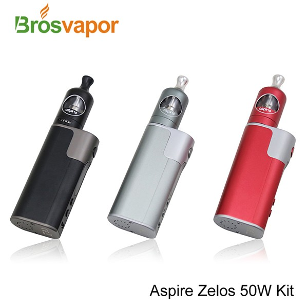 2017 Crazy Selling! New Aspire Zelos 50W Kit With 2ml Nautilus 2 Tank and 2500mah Zelos 50W Mod