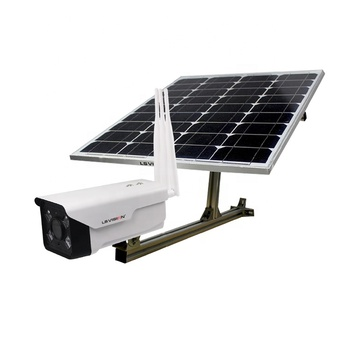 LS VISION H.265 2MP 1080P HD 2G 3G 4G Wireless Outdoor Waterproof Starlight Solar energy Panel Powered IP Camera for Remote Area