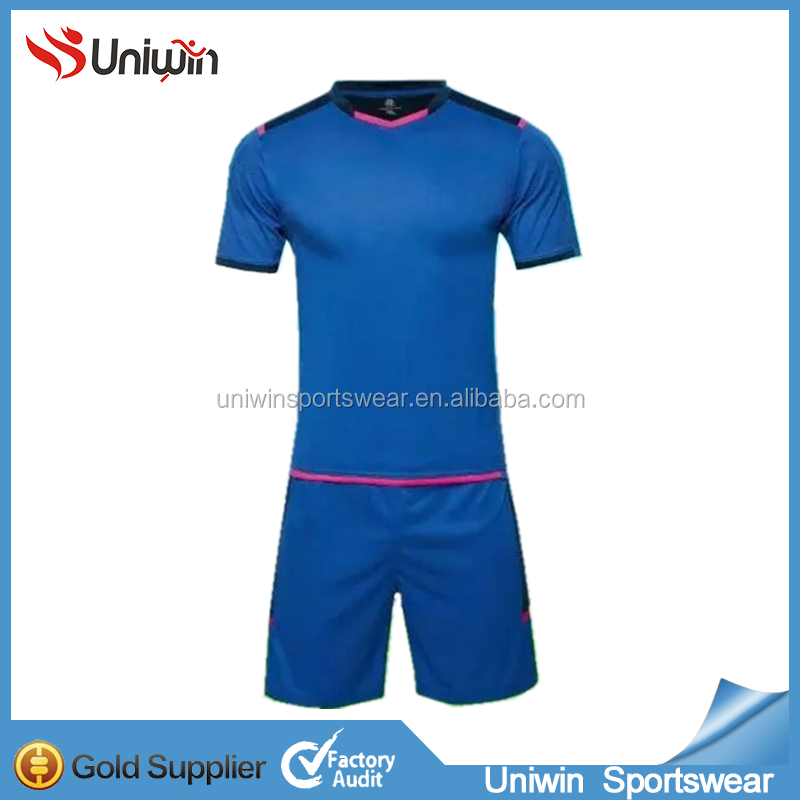 hot selling custom made soccer jersey set blank design cheap football shirt uniform in stock wholesale jersey