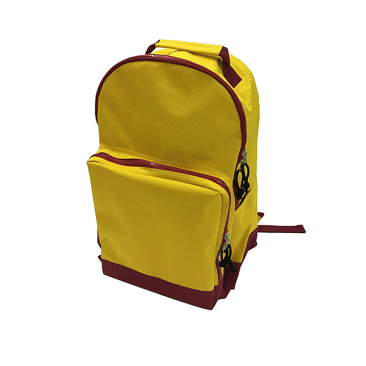 6f15bb4ef16 Chinese factory price customer design best sale high quality yellow  polyester backpack bag primary export school