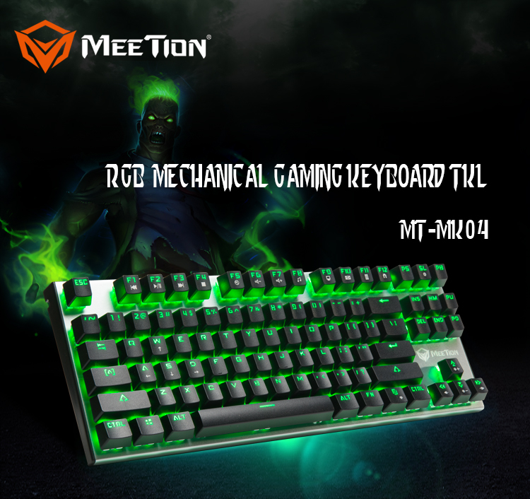 Wholesales Aluminium Alloy Mechanical Keyboard for Gamers
