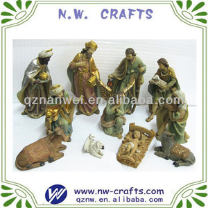 Religious China nativity set