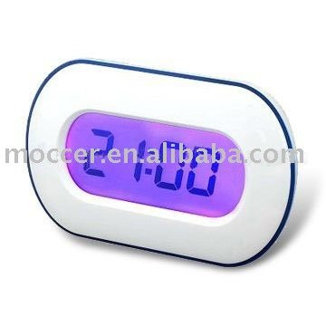 Touch screen clock,Color changing clock,Desk clock