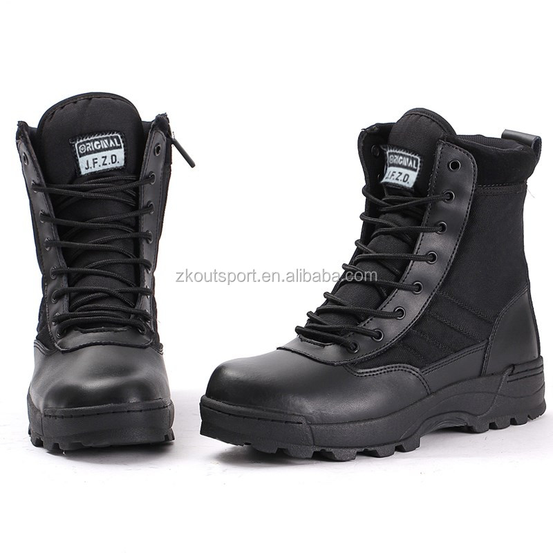 New Design Best Quality Good Price For Men's Leather Combat Desert ...