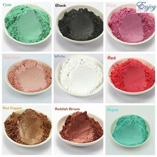 100g Pearlescent Colorful Pearl Powder Pigment for Eye shadow Nail Polish Mica Glitter Powder Cosmetic Flash