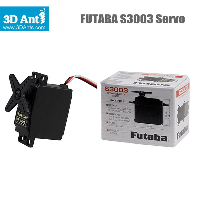 100 Orginal Servo Futaba S3003 Standard Servos For Rc Car