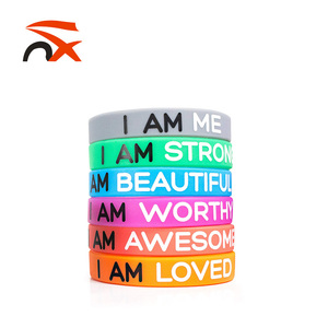 High Quality Elastic Silicon Wrist Band Custom Silicone Wristband With Cheap Price