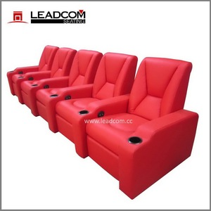LEADCOM luxury leather vip home theater seating (LS-805)