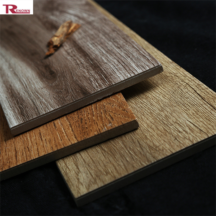 Hot Wood Finish Floor Tiles 8 Inch