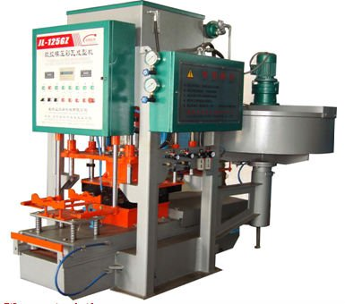 MKR-500G cement color tile/brick making machine
