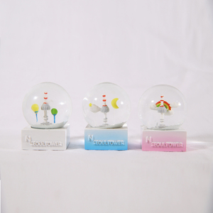 GLASS SNOW GLOBE souvenir water globe wholesale custom snow globe