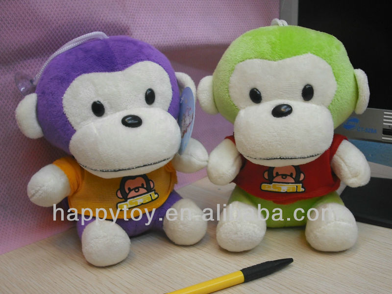 HI CE Hot sales funny monkey <strong>plush</strong>