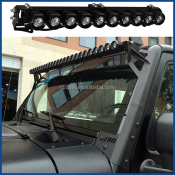 Original Spot Beam Diy 10w 250w Cree Single Led Light Bar For Atv Suv Utv Offraod Truck Heavy Duty Marine Mine Outdoor Buy Single Led Light Bar Spot