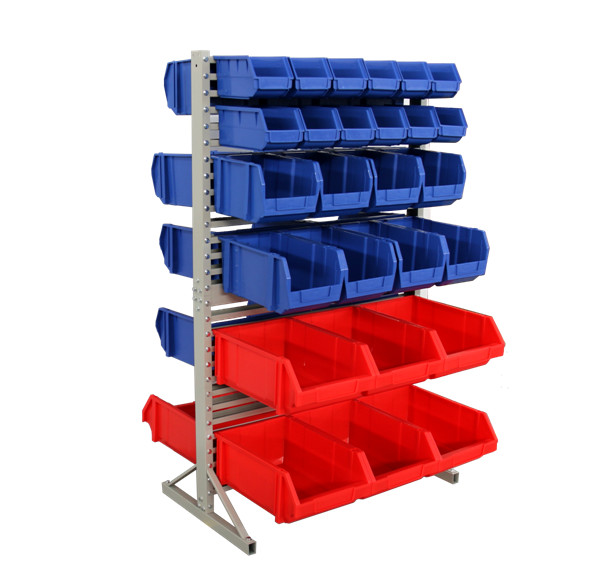 Tool storage plastic storage bins