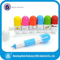 2014 fun plastic pen for kids,school use