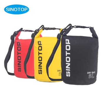 888cd0a6e40c SINOTOP New Product Fashion Sport PVC Waterproof Bag Ocean Pack Dry Bag  Survival Gear 5L