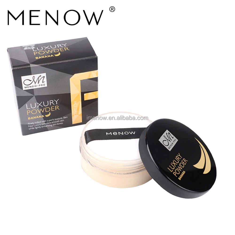 Menow F16007 Brand Luxury Banana Powder Face Oil-control Loose Powder Cosmetic