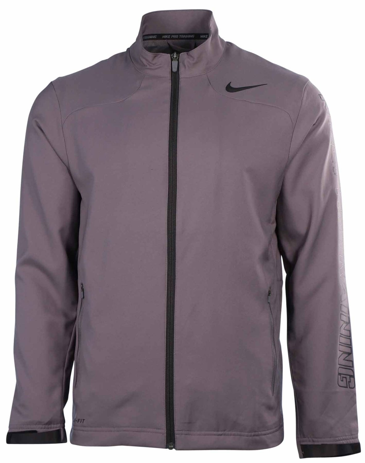 de221b45eef68 Buy Nike Mens Dri-Fit Hyperspeed Lined Training Jacket-Gray Black in ...