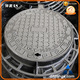 GJS500-7(GGG50),Iron Material and Drainage system Application cast iron manhole cover en124 b125