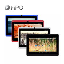 Hipo 7 pollice 1024*600 <span class=keywords><strong>Allwinner</strong></span> A33 Quad Core 512 MB + 8 GB tablet android download del firmware