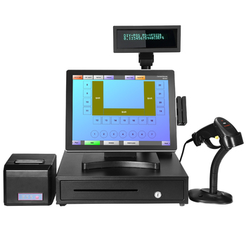 Ture flat screen Point of sale cash registers with MSR / pos computer systems