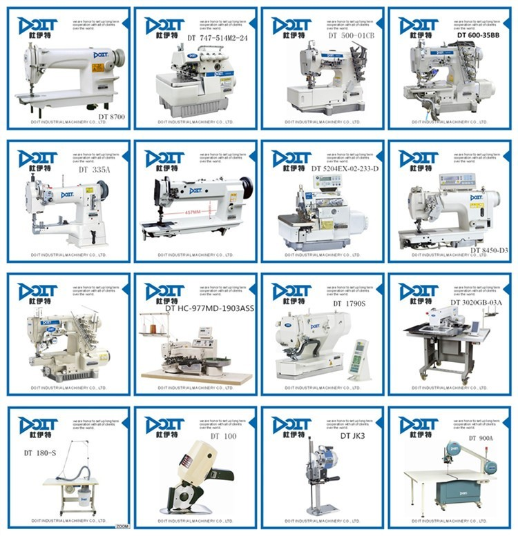 DT 3800D HIGH SPEED DIRECT DRIVE CHAIN STITCH SEWING MACHINE